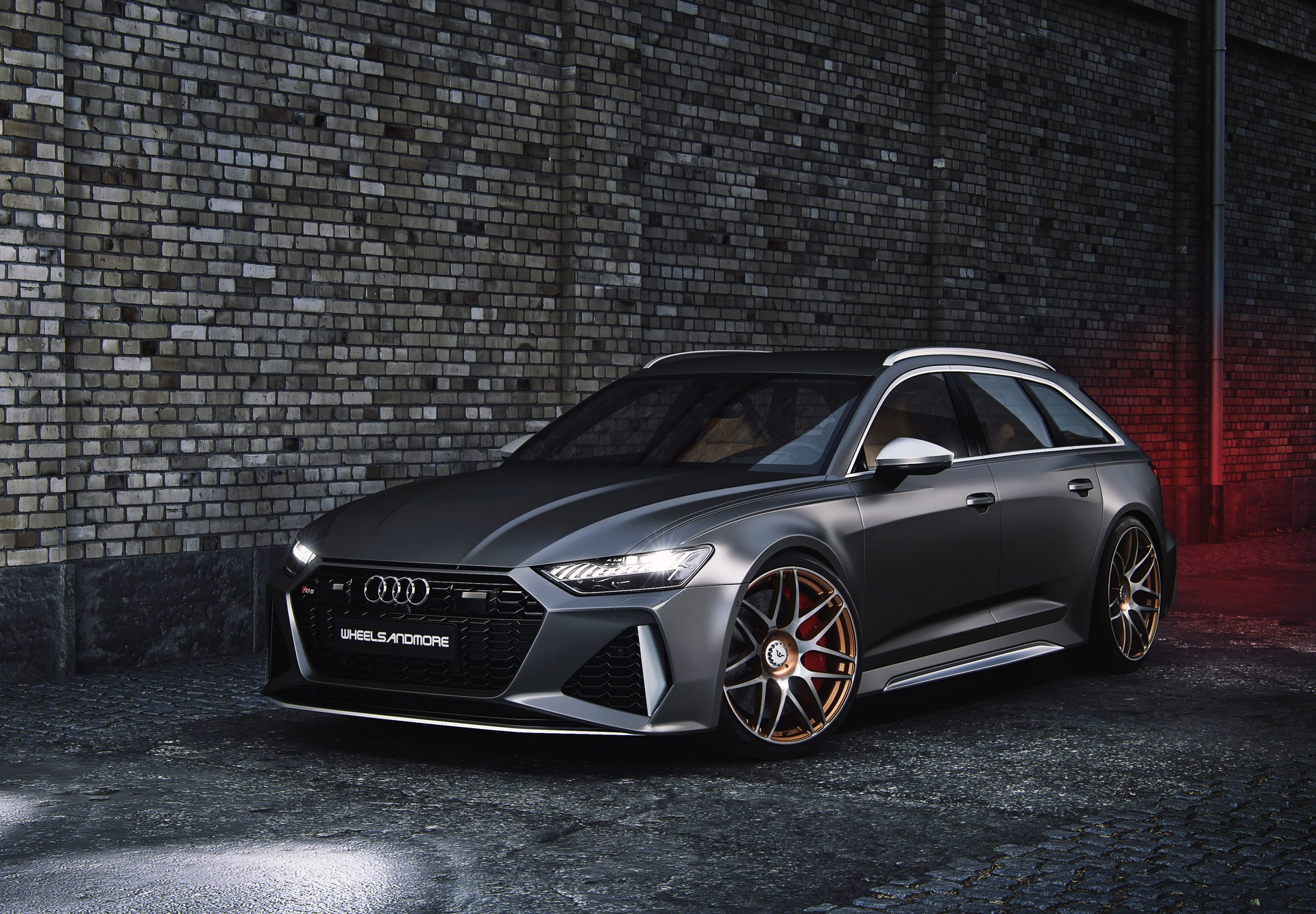 Tuned 2020 Audi Rs6 Avant Has More Power Than The Original Bugatti Veyron 16 4 Carscoops