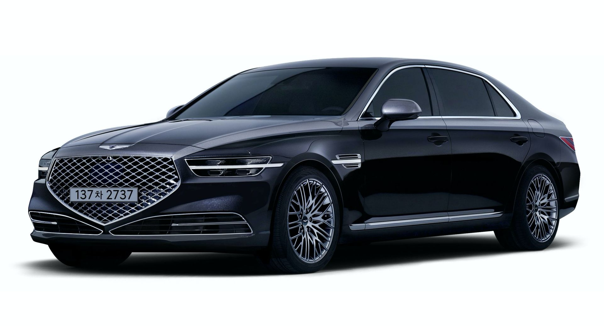 Genesis G90 Stardust Limited Edition Headlines 2021MY Updates In Korea |  Carscoops