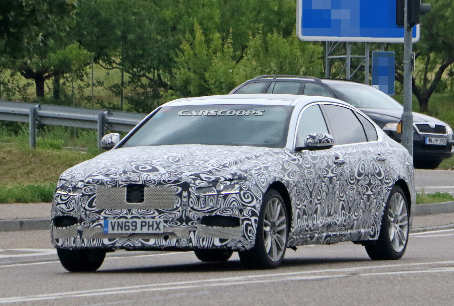 2021 jaguar xf l and sportbrake come out of hiding get