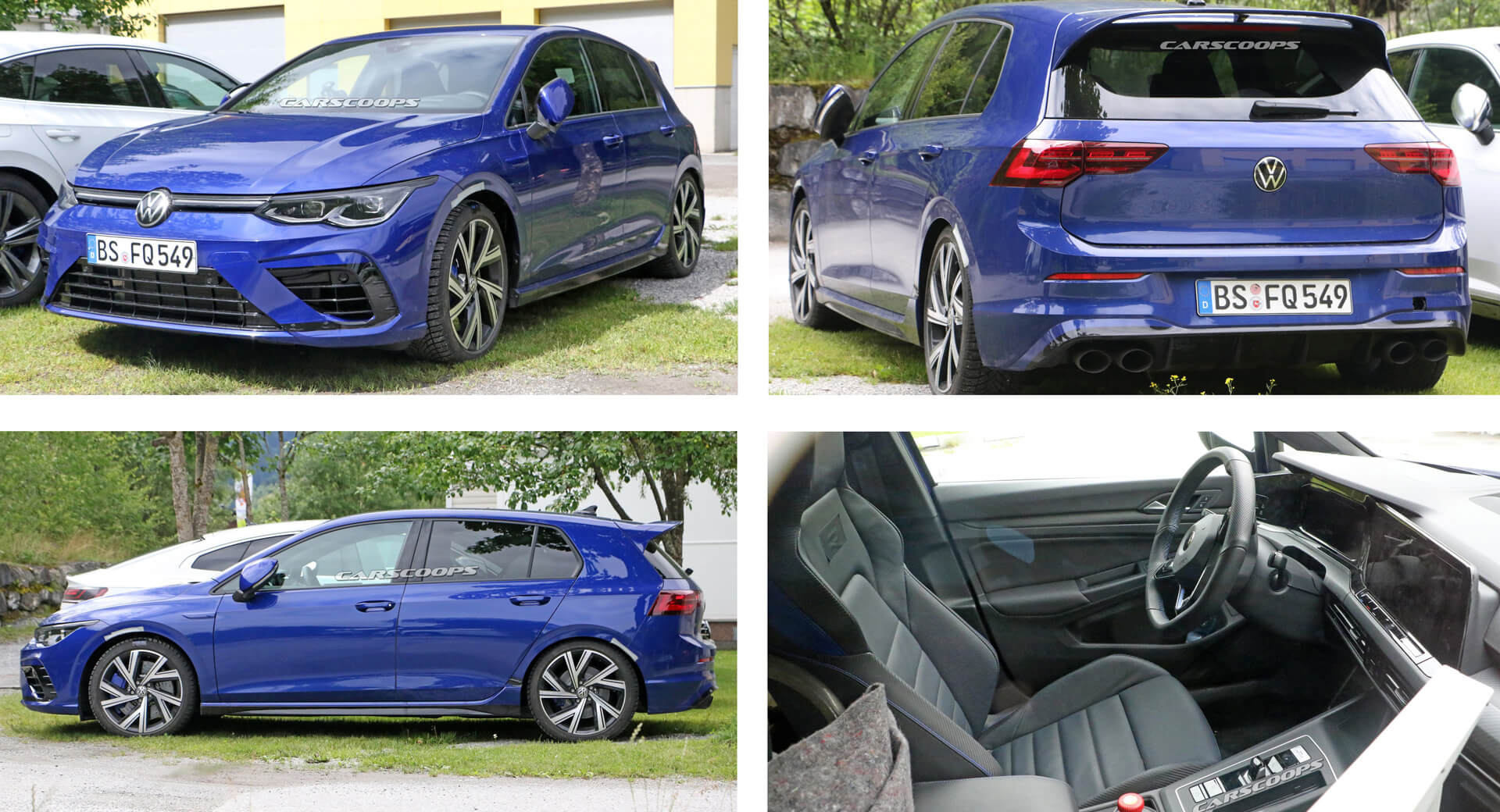 All-New 2021 VW Golf R: These Are The Most Revealing Spy ...