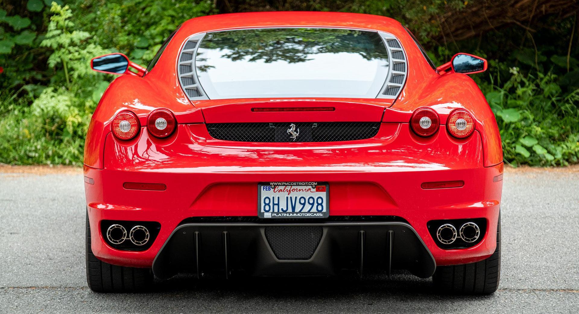 Ferrari F430 With Six Speed Manual Is A True Petrolhead S Supercar Carscoops