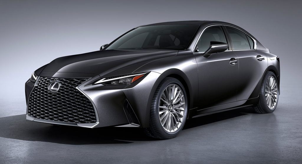 the 2021 lexus is gets an extensive facelift and a