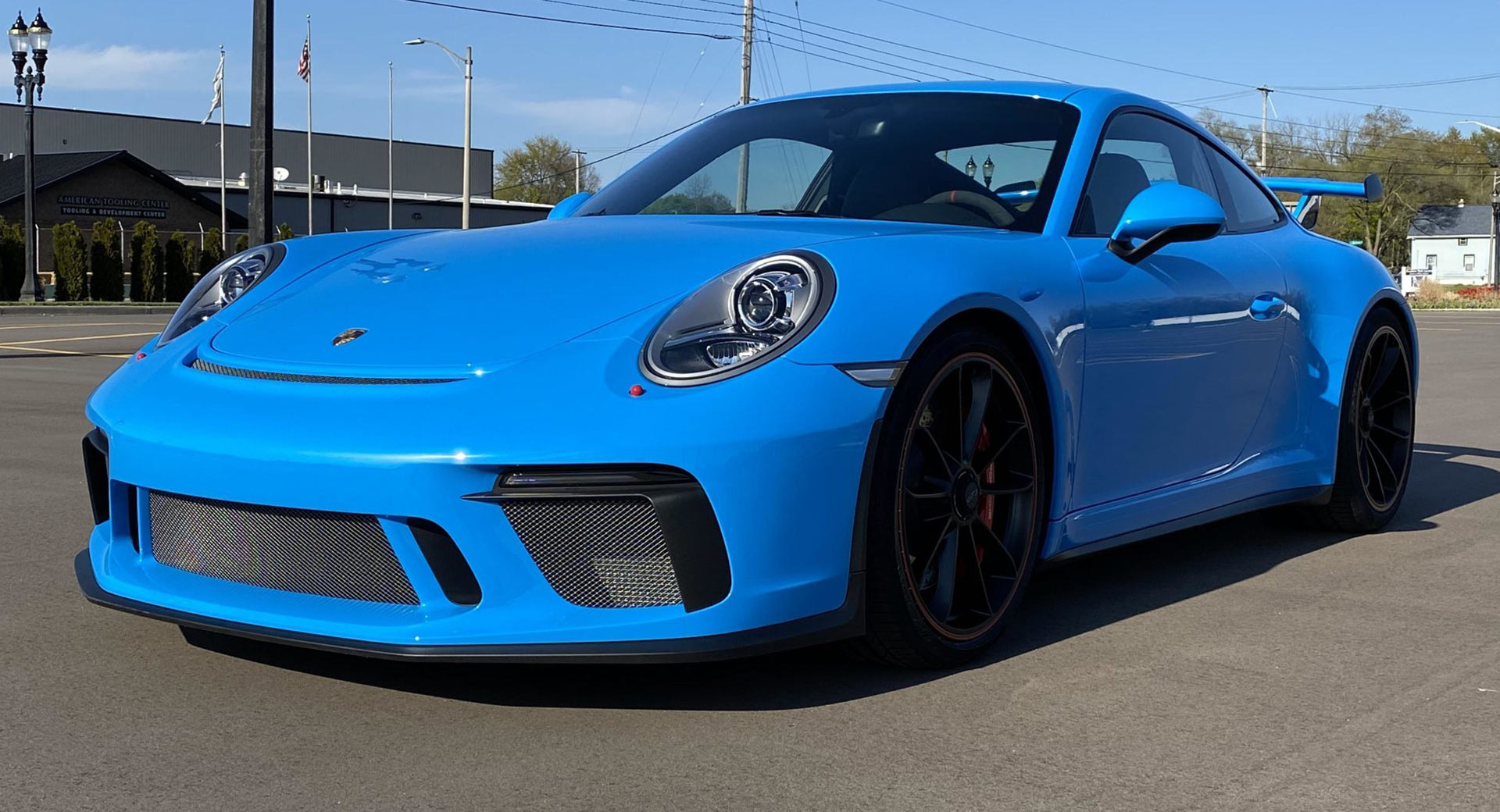 Who Needs An Rs Badge When You Can Get This Mexico Blue Porsche 911 Gt3 Carscoops