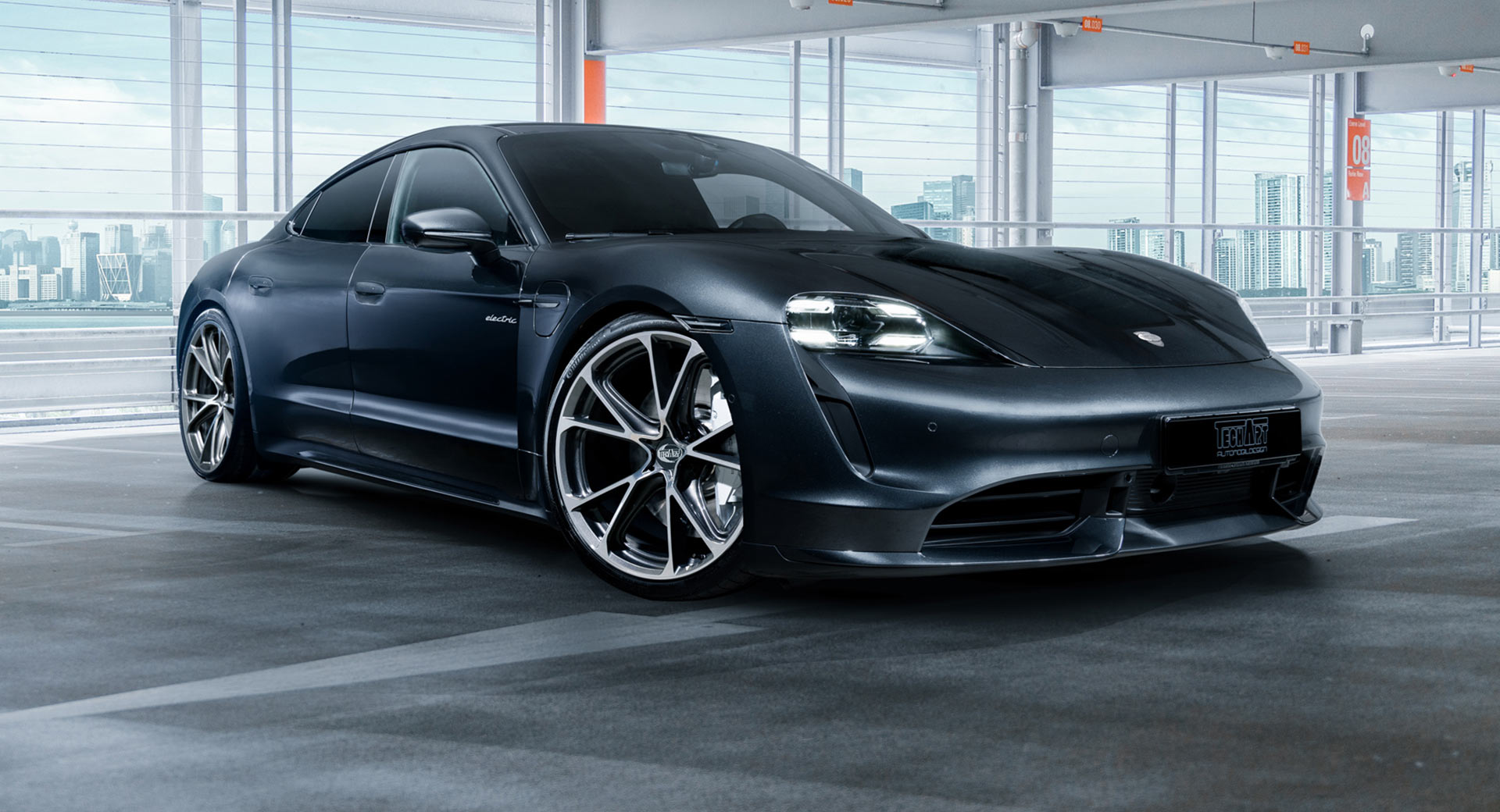 Techart Gives The Porsche Taycan New Wheels Is Working On Other Upgrades Carscoops