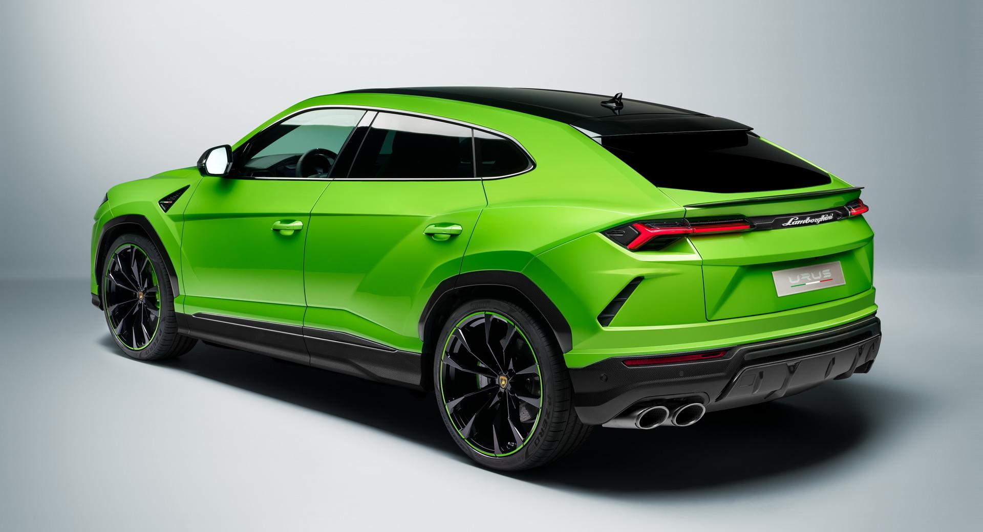 Lamborghini Urus Gains New Pearl Capsule Design Edition Carscoops