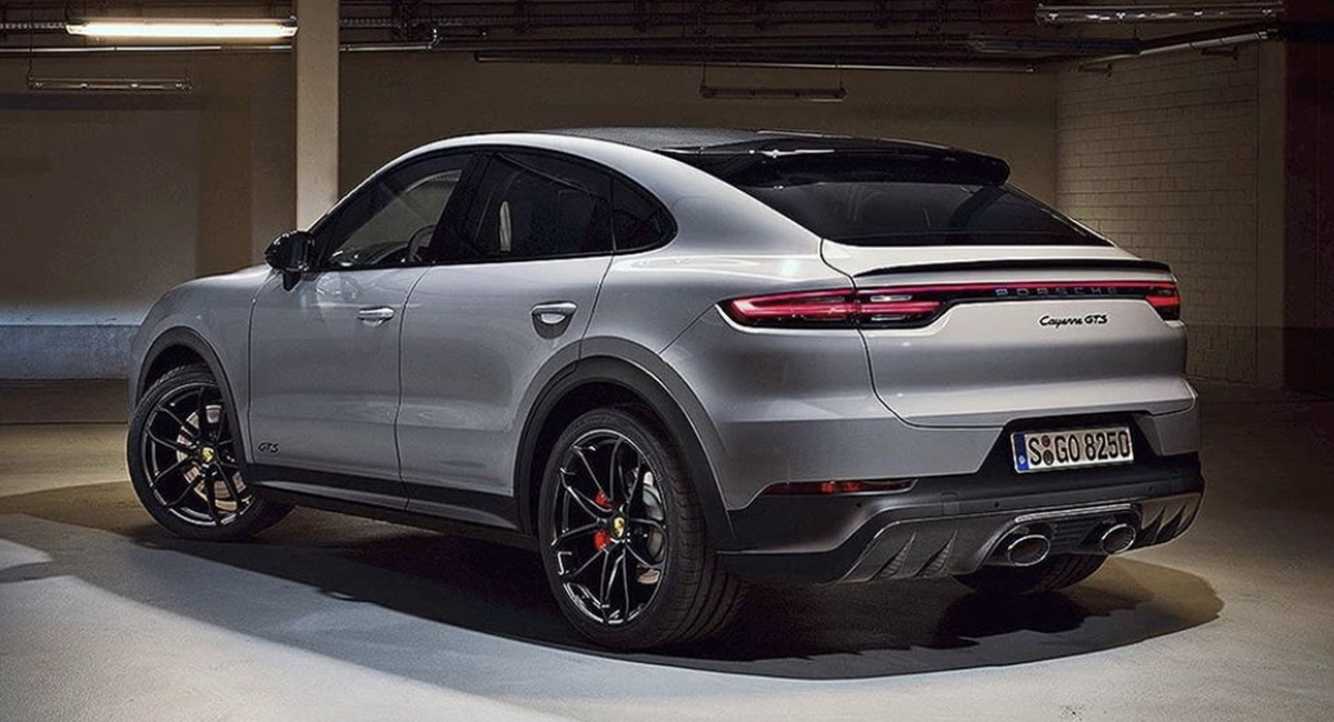 Here S The New 2021 Porsche Cayenne Coupe Gts Carscoops