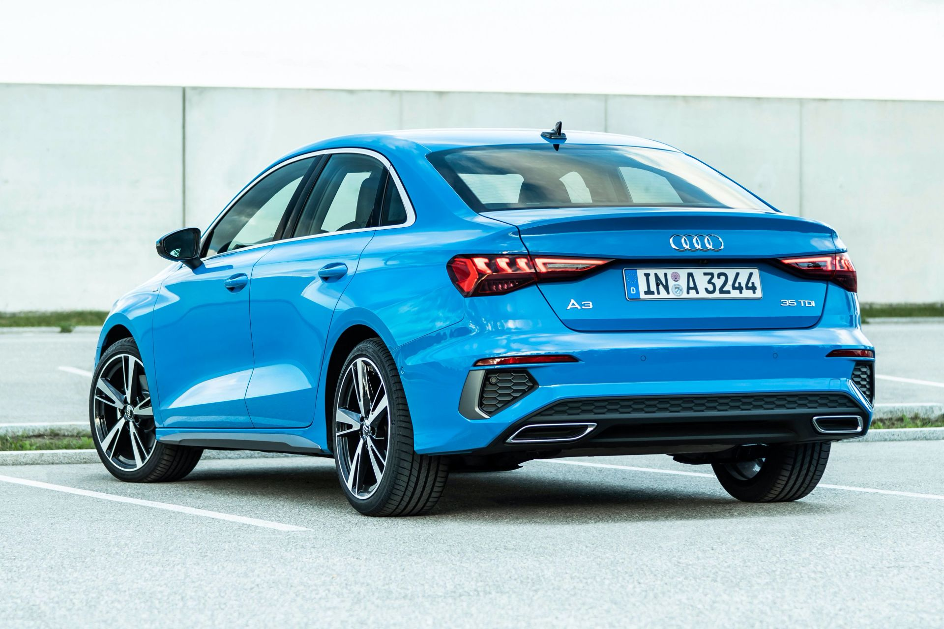 2021 Audi A3 Sedan Fully Exposed In Massive Photo Gallery Carscoops