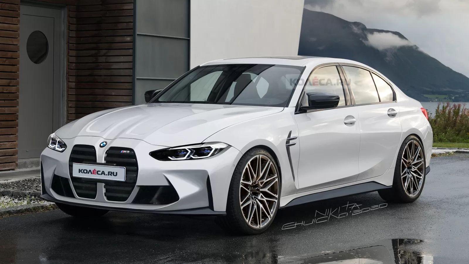 Konzept BMW M3 2021