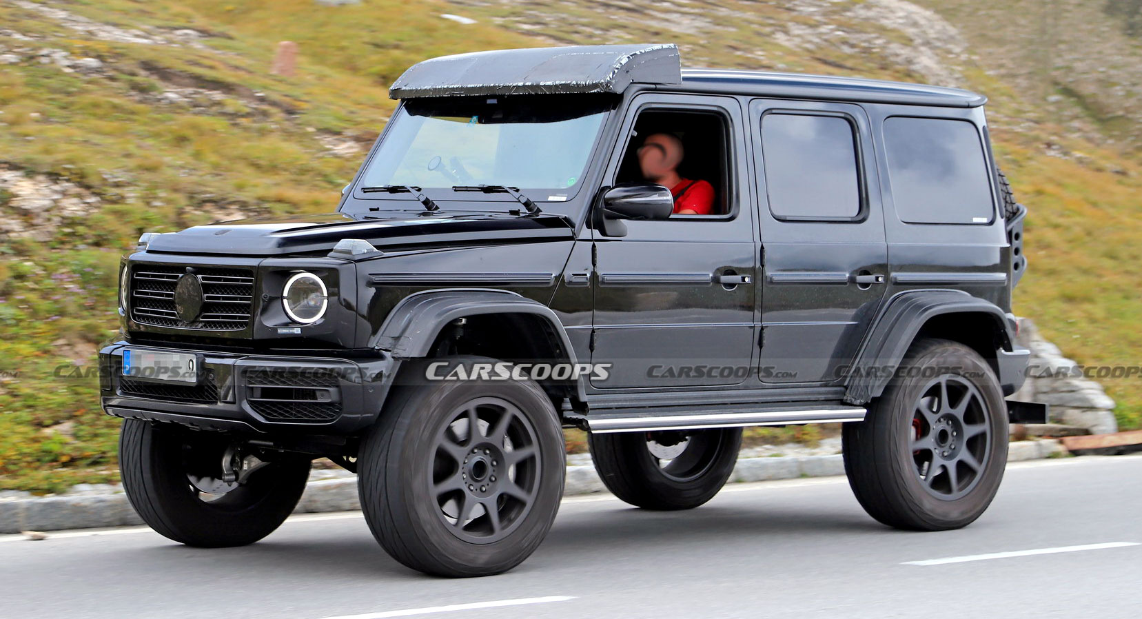 2021 Mercedes Amg G Class 4x4 Spied Undisguised Looks Every Bit As Wild As The Original Carscoops