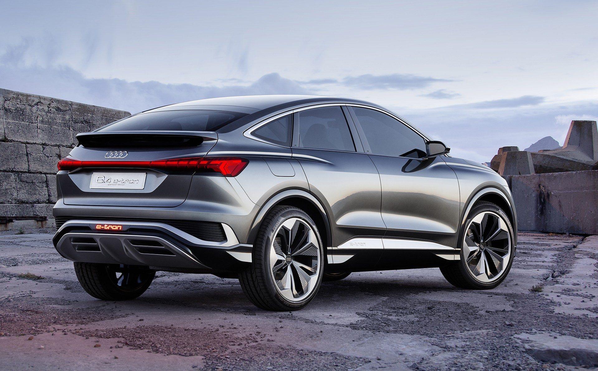 Audi Q4 E-Tron, 2021 BMW M4, 2020 Polaris Slingshot R
