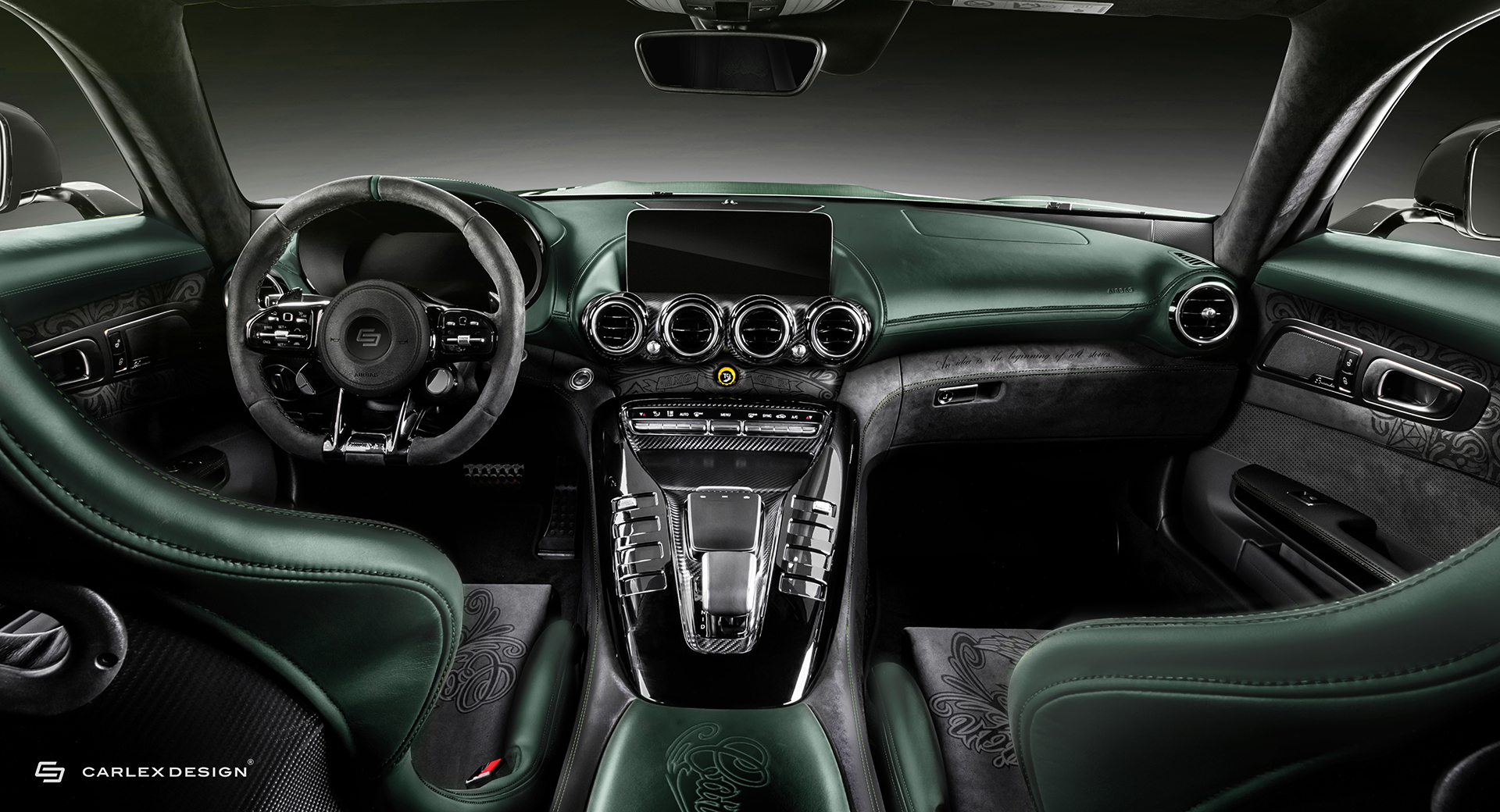 Carlex Design's Mercedes-AMG GT R Pro 'Tattoo Edition' Is Not For ...