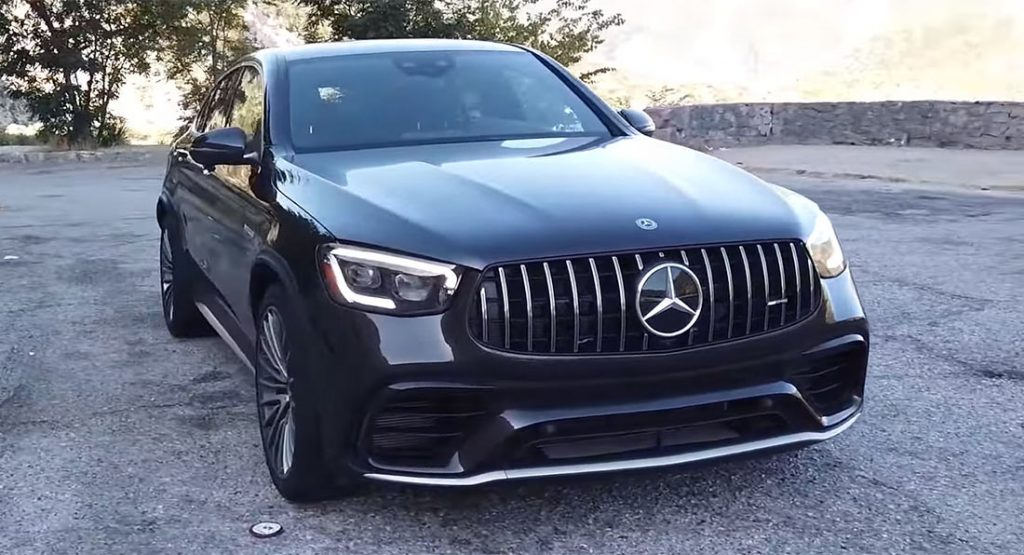 Mercedes-AMG GLC 63 S Coupe Is One Shockingly Fast SUV