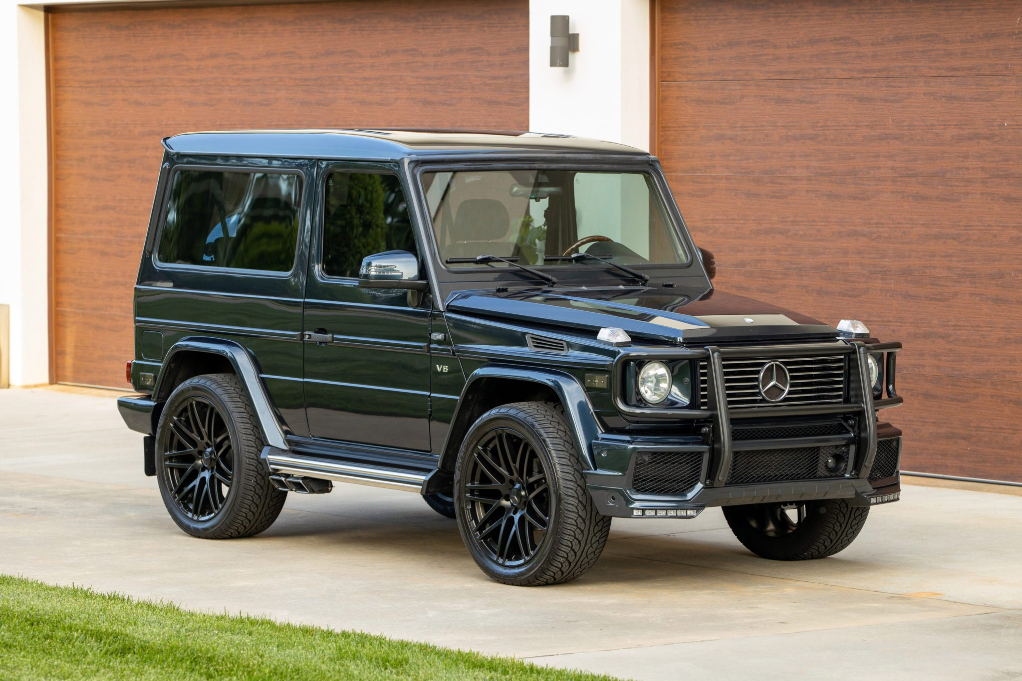 Stand Out From The Crowd With This Mercedes Benz G500 Swb Carscoops