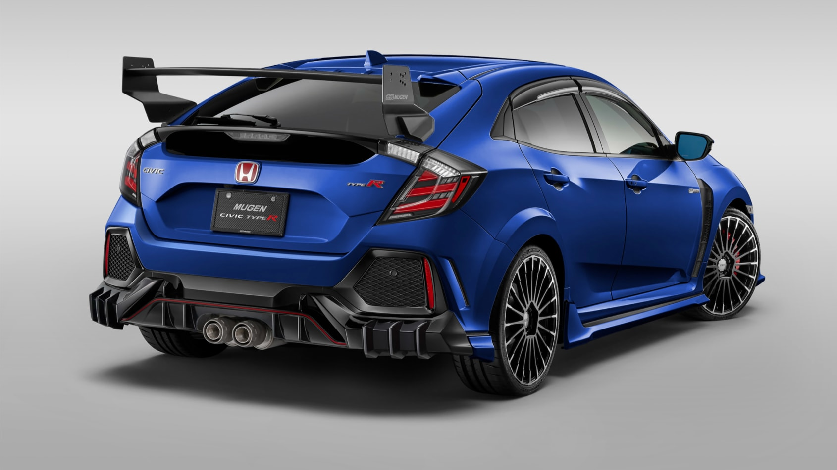 Mugen's New Honda Civic Type R Upgrades Are Not For Introverts