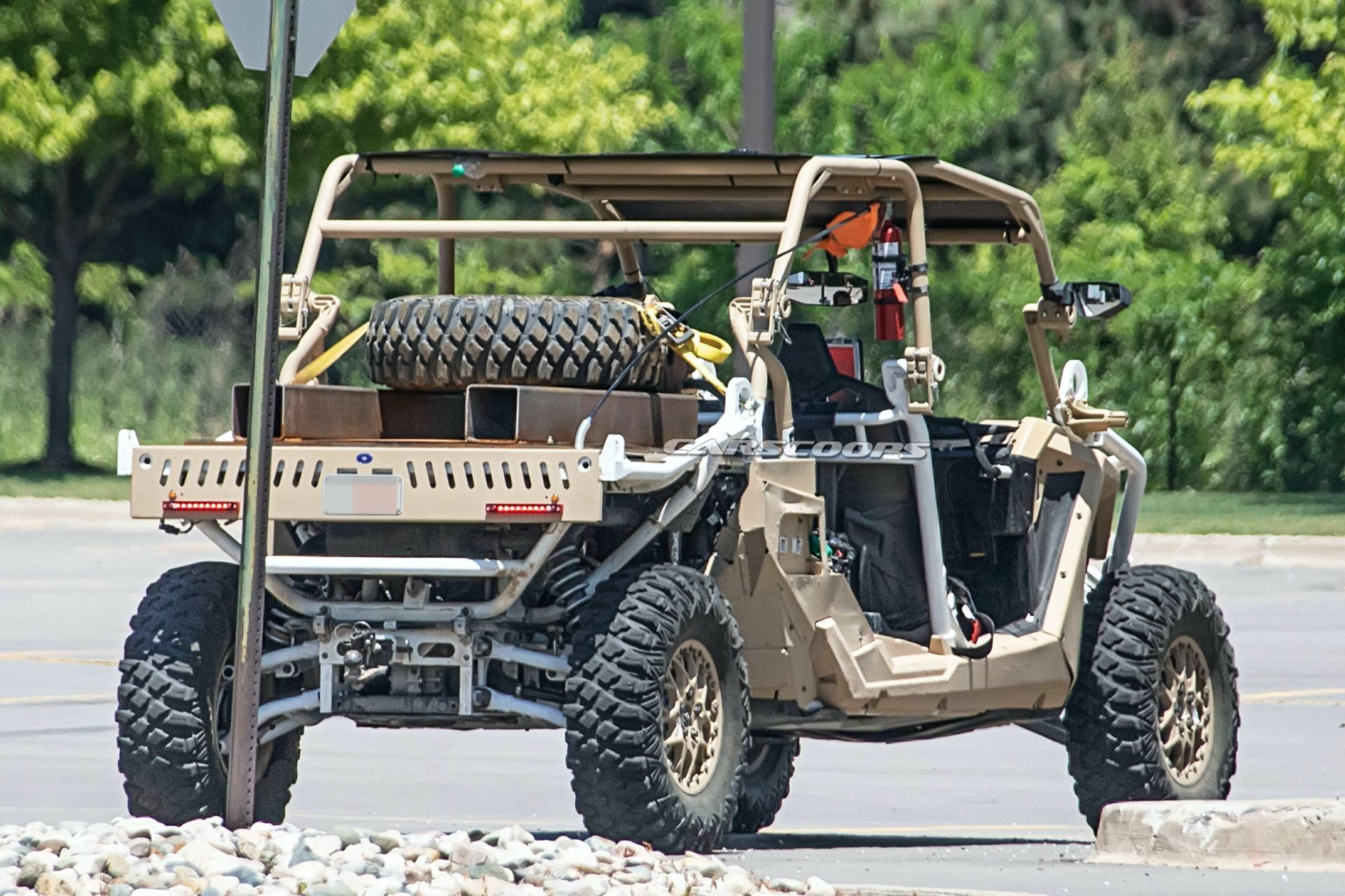 Polaris' 'Dune Buggy' For U.S. Special Forces Spied For The First Time