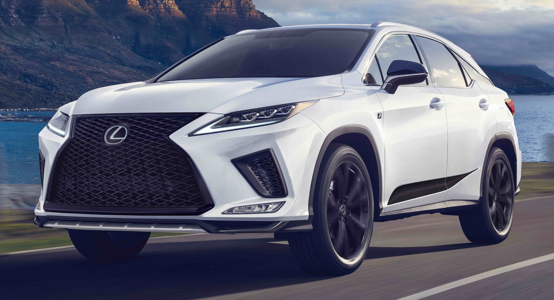 The 2021 Lexus Rx Joins The Black Line Crowd With Unique Styling Cues Carscoops