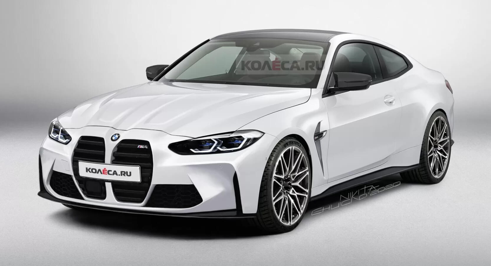 Yes The 2021 Bmw M4 Coupe Will Look Just Like This Illustration Carscoops