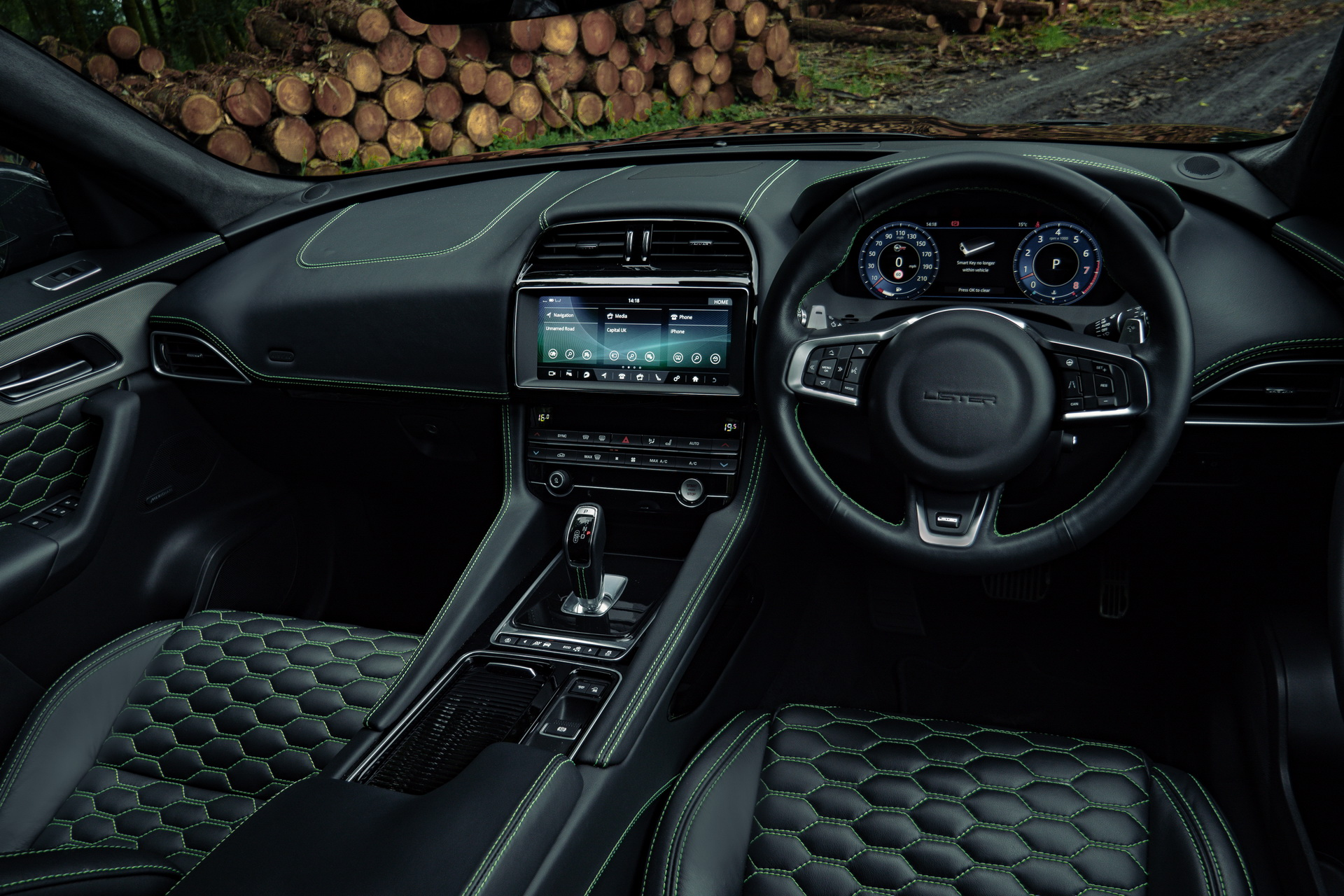 New 2021 Lister Stealth Is A Tuned Jaguar F Pace Svr With A Devilish 666 Hp Carscoops