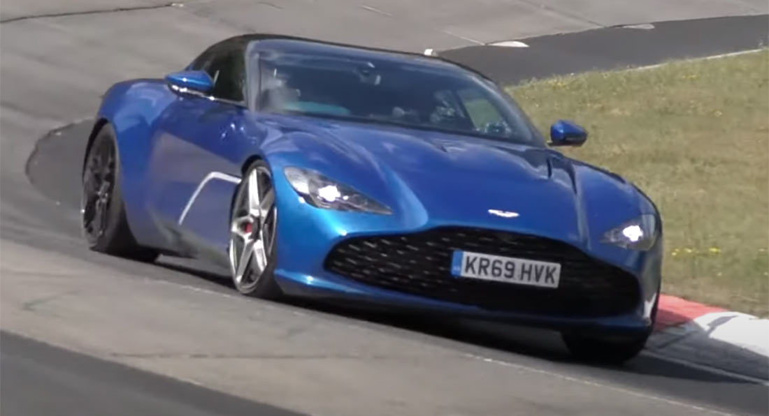 Watch The 2021 Aston Martin Dbs Gt Zagato Being Put Through Its Paces Carscoops