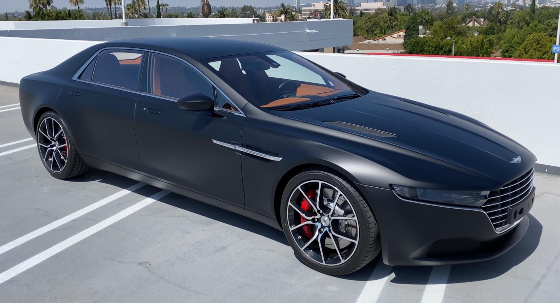 Aston Martin Lagonda Taraf Meet The World S Most Expensive Luxury Sedan Carscoops