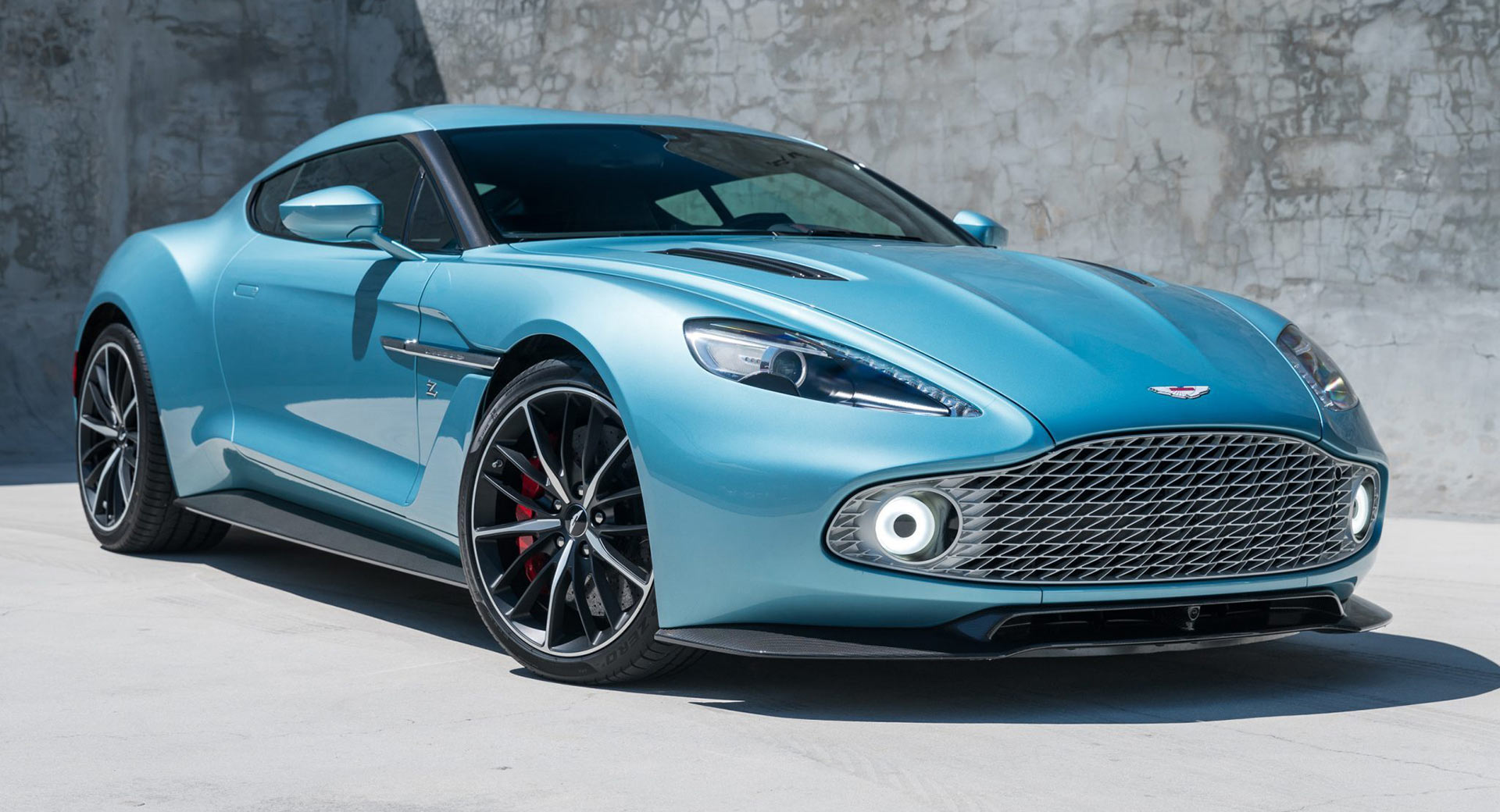 Why Did This Rare Aston Martin Vanquish Zagato Coupe Fail To Sell At An Auction Carscoops