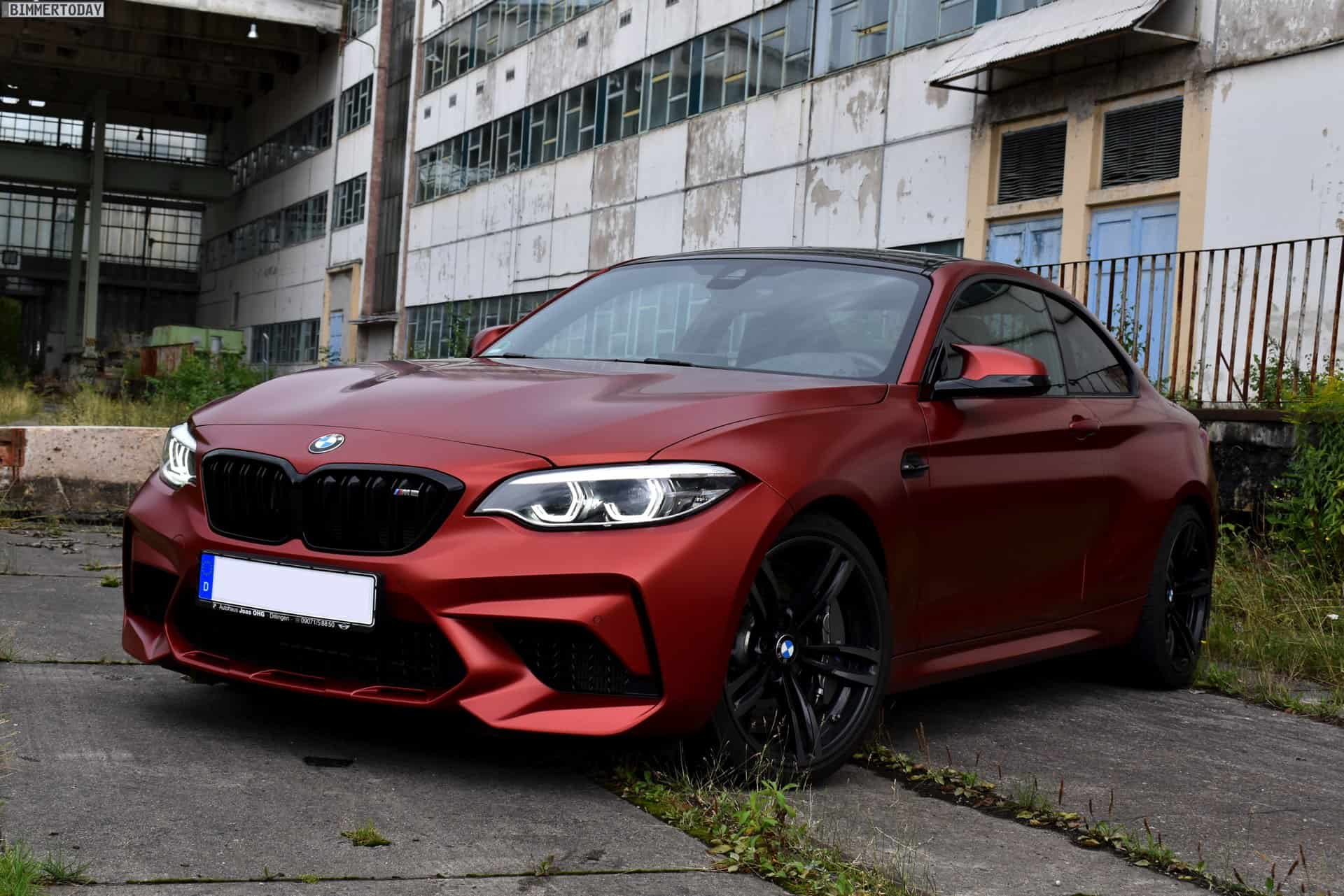 Bmw M2 Competition In Frozen Sunset Orange Is One Of Just Two In The World Carscoops