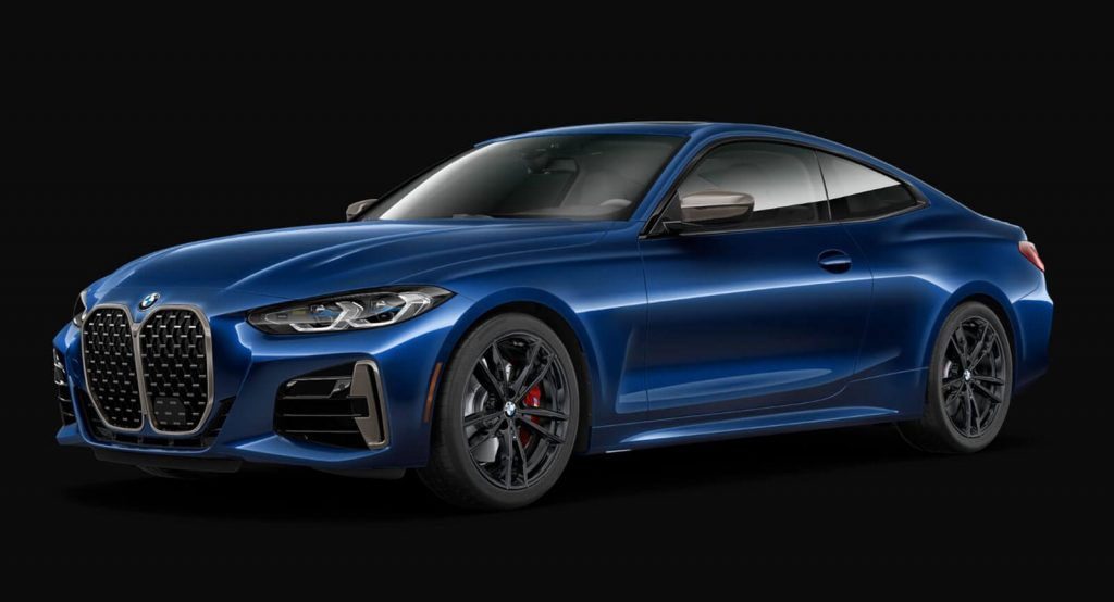 how would you spec your ideal 2021 bmw 4-series coupe on
