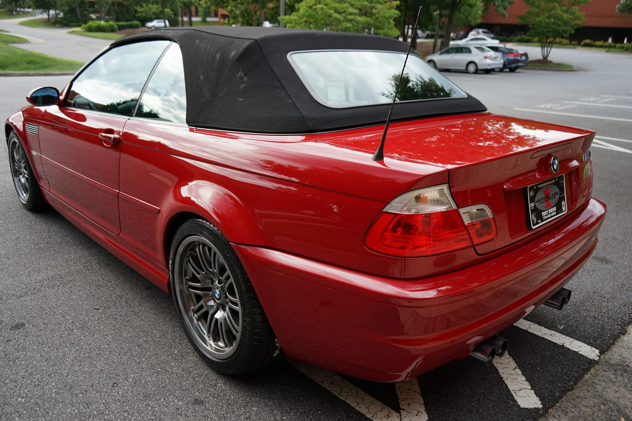 Turn Back Time With This Manual 2001 Bmw M3 E46 Convertible Carscoops