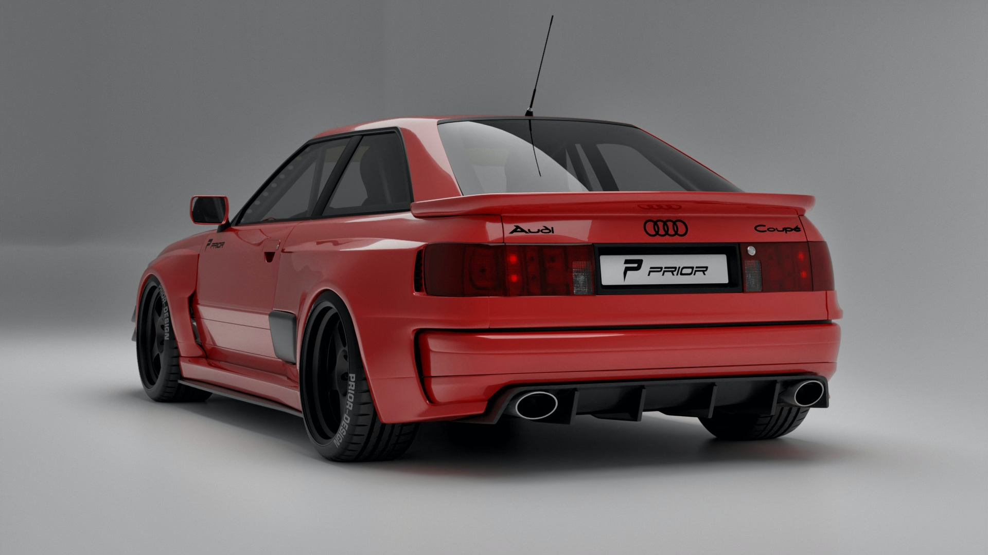 Prior Design Wants To Rewrite History With Audi Rs2 Coupe Widebody Kit Carscoops
