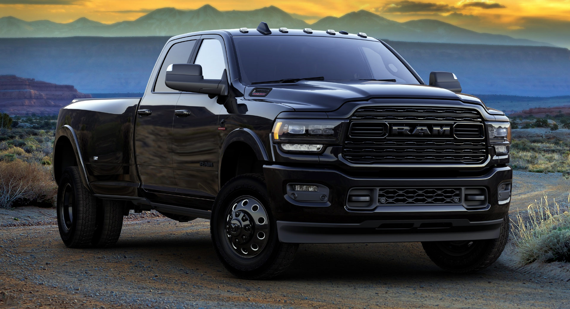 Black Is The New Beige 2021 Ram 1500 And Heavy Duty Limited Night Editions Carscoops