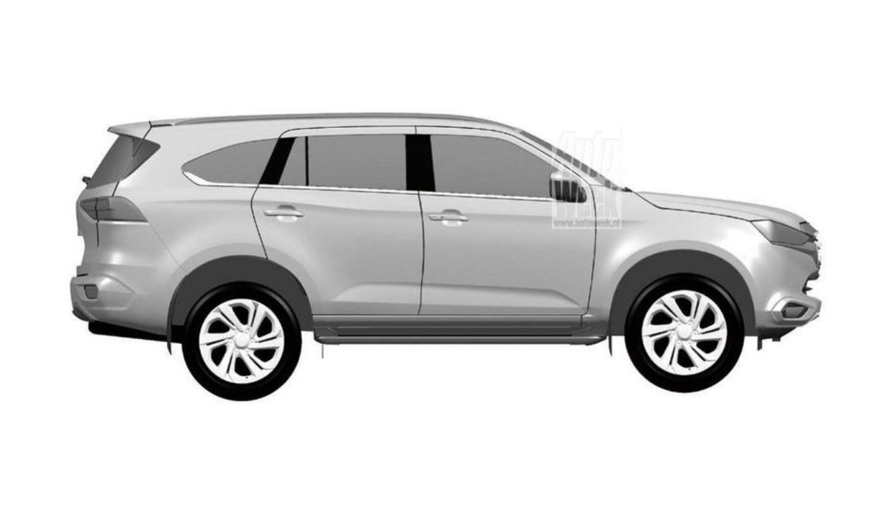 This Could Very Well Be Isuzu S All New 2021 Mu X Body On Frame Suv Carscoops