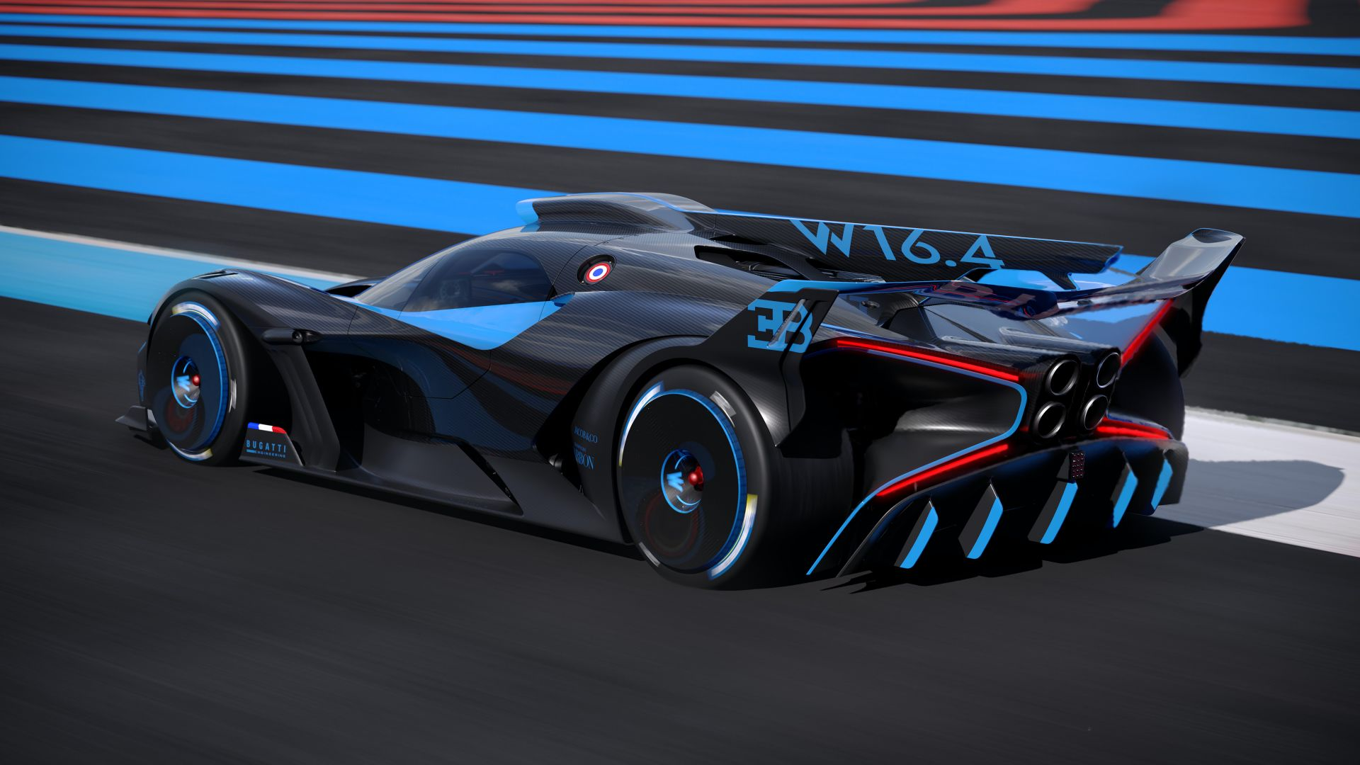 1 824 Hp Bugatti Bolide Track Monster Is The Chiron S Wet Dream Carscoops