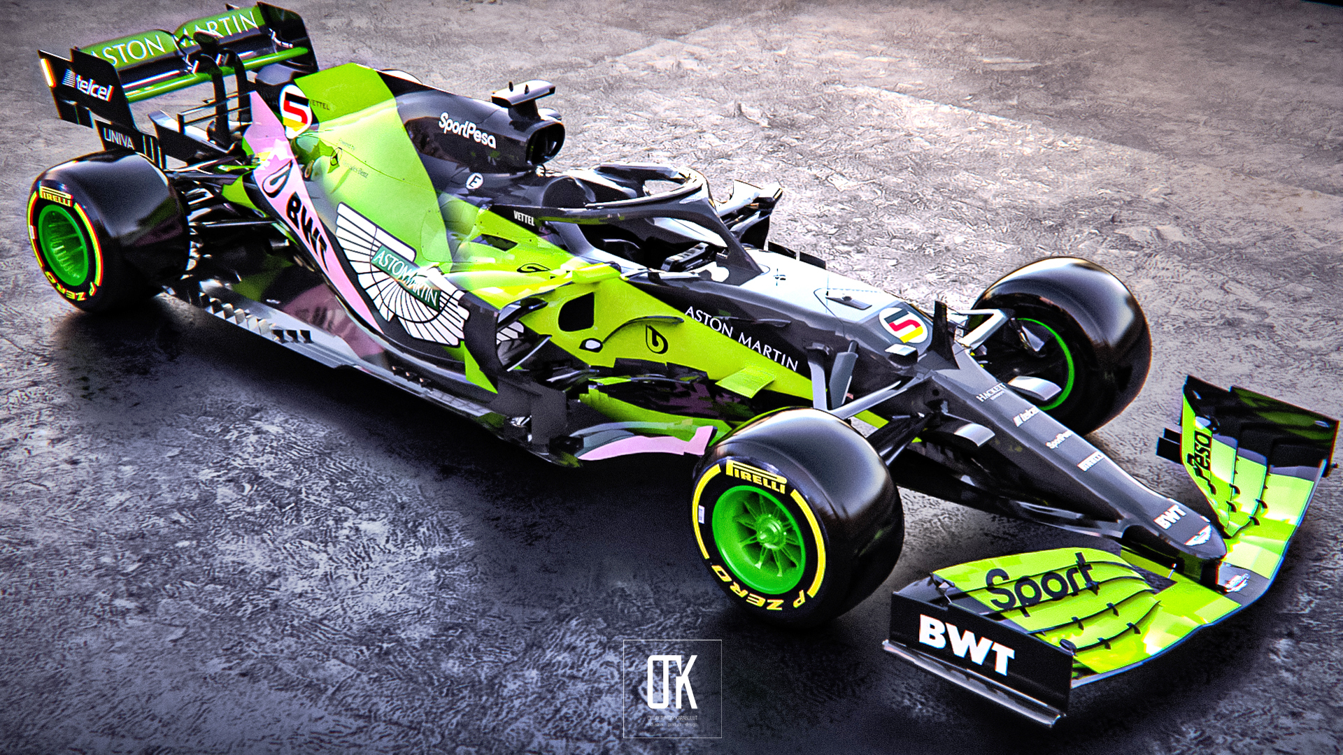 Is This What The Aston Martin F1 Car Could Look Like Carscoops