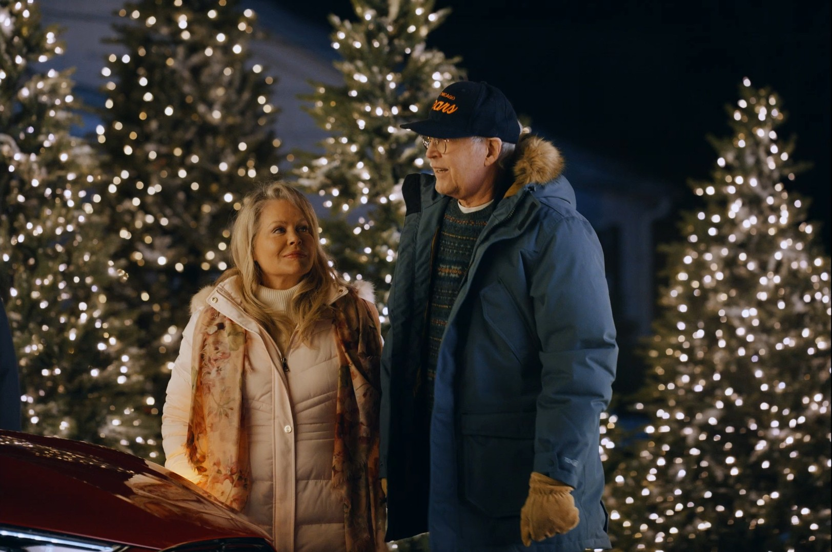 Christmas Car Commercial 2021 Chevy Chase And Beverly D Angelo Recreate Christmas Vacation Scene With Mustang Mach E Carscoops