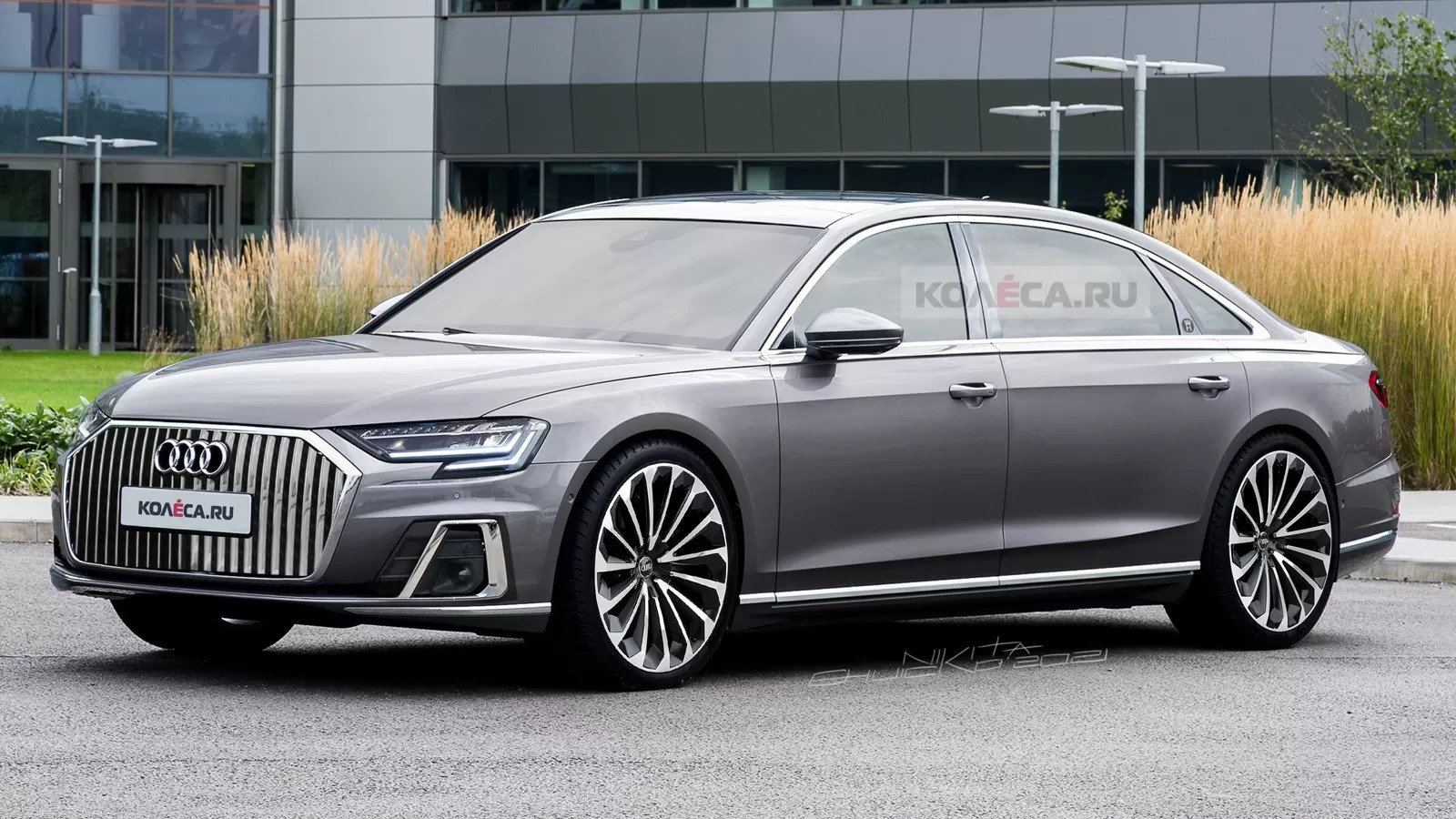 The Long Rumored Audi A8l Horch Comes Alive With Detailed Rendering Autobala